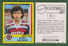 Aston Villa Gary Williams 25
